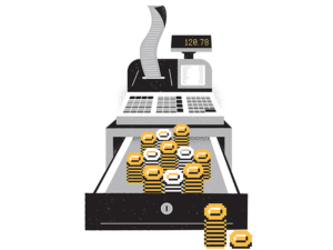 Cash Register Design by James Olstein